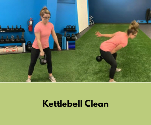 Kettlebell clean technique First Capital Gym