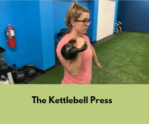 Kettlebell Press First Capital Gym