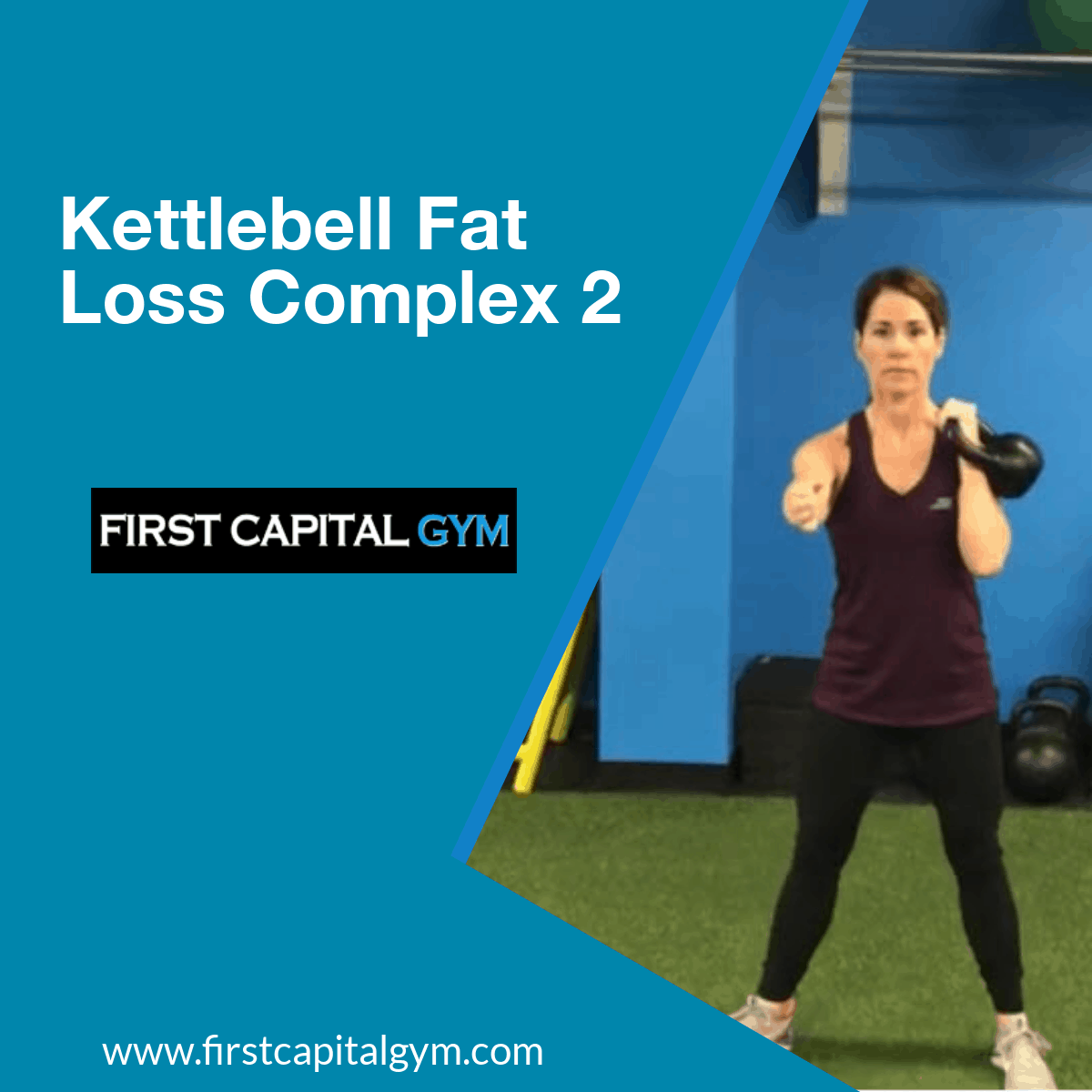 York Pa Gym - Kettlebell Complex for Fat Loss
